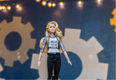 Will Barbie be the new spy for the NSA? Image © Christopher Stark for the New York Times