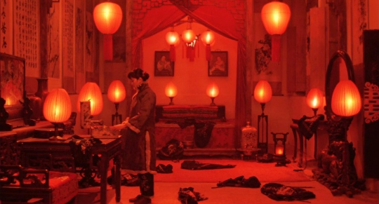 Gong Li in Raise the red lantern (1991); image via theredlist.com