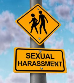 sexual harassment workplace signpost