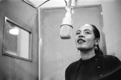 Billie Holiday recording