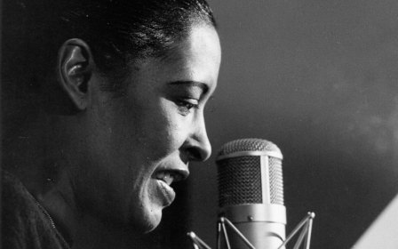 Billie Holiday Singing Recording