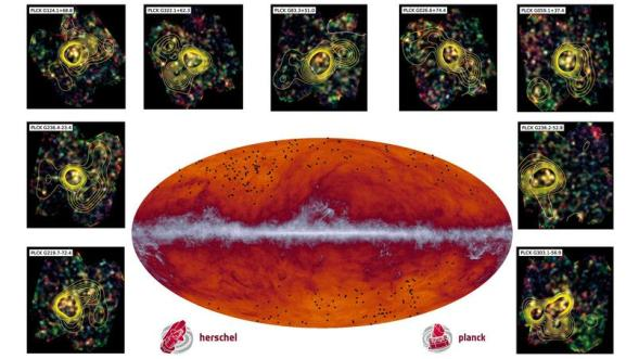 planck herschel cosmic microwave background discovery
