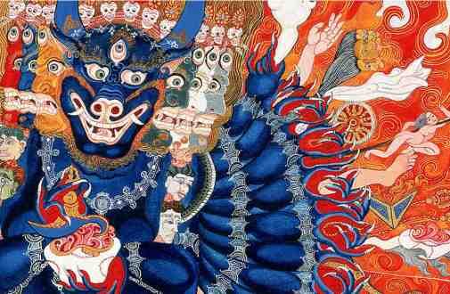 tibetan dharmapala