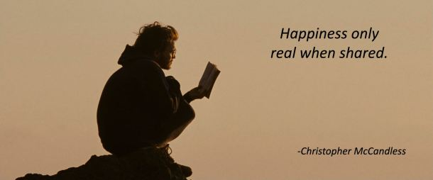 into the wild emile hirsch happiness only real when shared