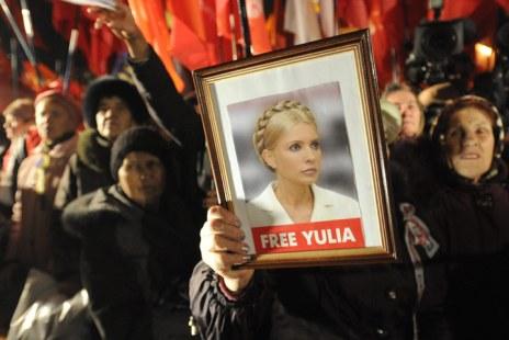 free yulia tymoshenko ukraine