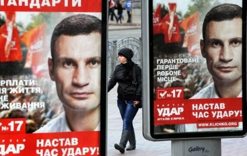 vitali klitschko ukraine 2012 elections