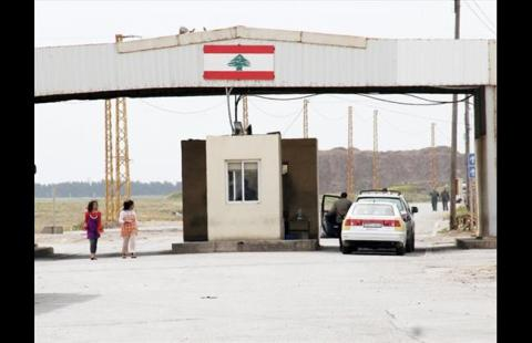 The Lebanese-Syrian border in Arida. Image © The Daily Star.