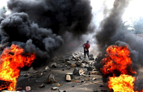 protests burundi