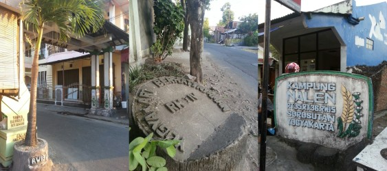RW and RT milestones in Yogyakarta. Picture © Jade Le Van