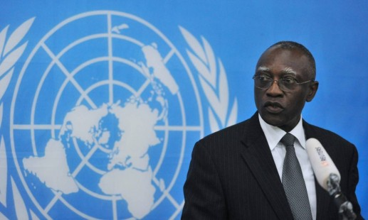 Babacar Gaye UN Minusca former chief UN peacekeeping