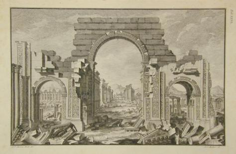 Ruins of palmyra 1753 robert wood