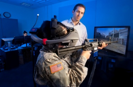 Us army Virtual Reality technology