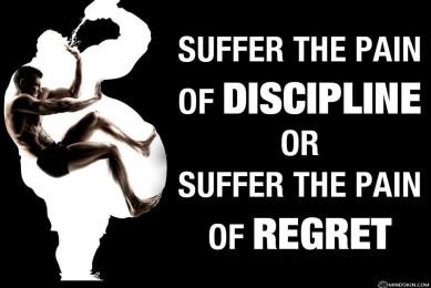 fitspo discipline regret