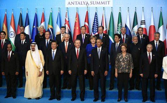 The G20 Summit in Antalya. Photo via t20turkey.org
