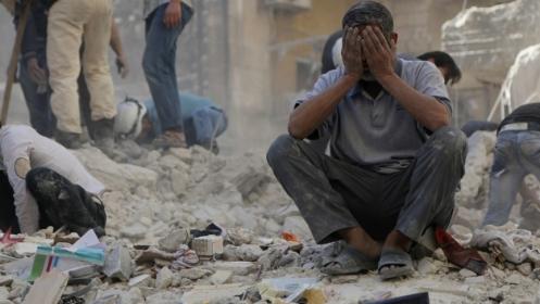 Aleppo syria syrian war