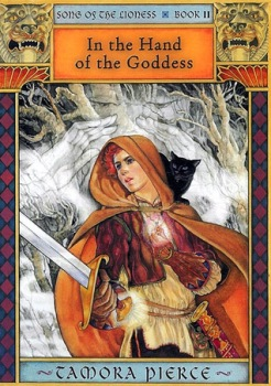 Song of the Lioness Tamora Pierce Alanna In the Hand of the Goddess