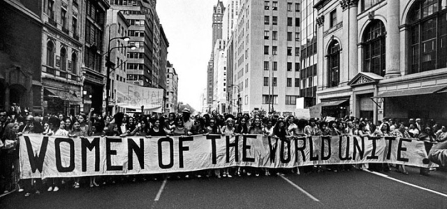A New York March in 1970. Picture via fluffmag.com